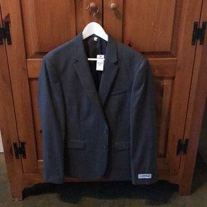 "Express Men's ""Innovator"" Suit Coat, Grey, Skinny"